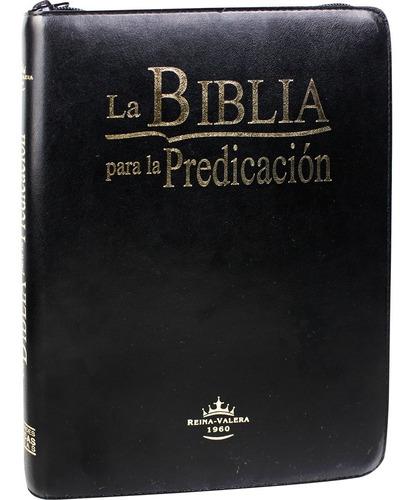 Biblia Para La Predicación Reina Valera 1960 Con Cierre