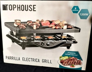 Parrilla Electrica Top House Grill + Plancha