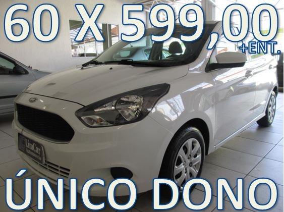 Ford Ka Se - Trabalhe No Uber - Entrada + 60 X 599,00 Fixas