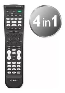 Control Remoto Universal 4en1 Sony Rm-vz220 Tv Dvd Vcr Blu-ray Hd-dvd Cbl Envio