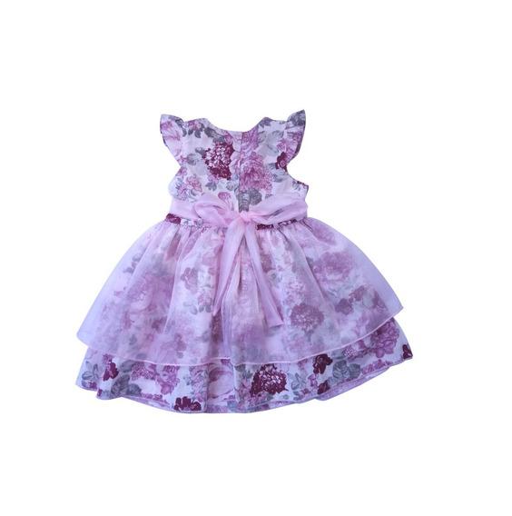 Vestido De Bebê Camponesa