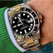 Relógio Rolex Gmt Automático Funcional Prova De Água Cerâmic