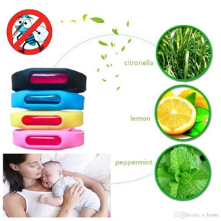 Pulsera Repelente Natural De Mosquitos Insectos 90 Días