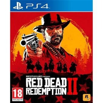 Red Dead Redempition 2- Ps4- Lacrado - Com Nota Fiscal