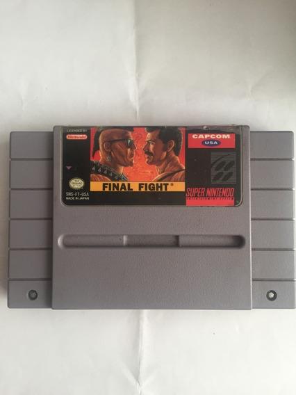 Final Fight 1 Original Super Nintendo