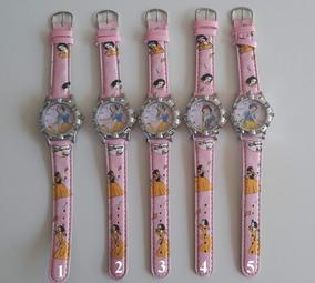 Relógio Disney Branca De Neve- Infantil Criança Promoção