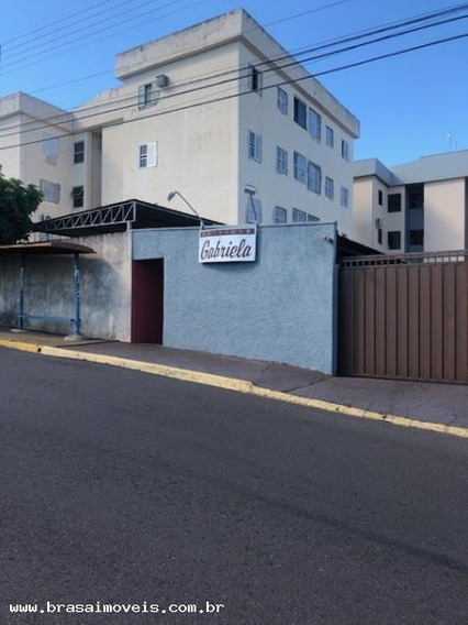 Apartamento Para Locação Em Presidente Prudente, Jardim Itapura, 2 Dormitórios, 1 Banheiro, 1 Vaga - 00539.001_1-1388073