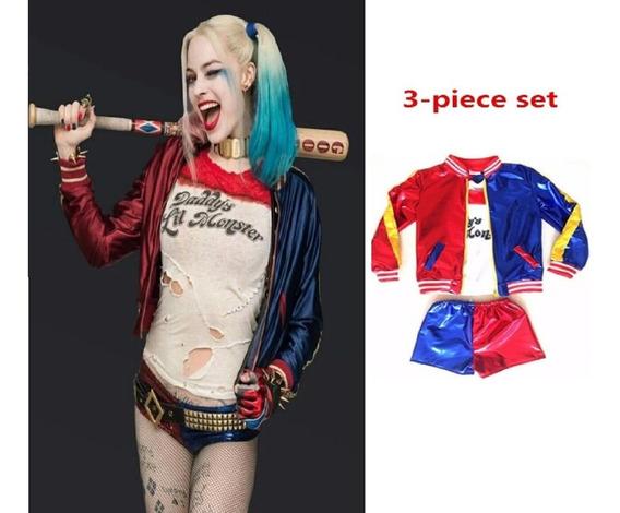 Disfraz Harley Quinn Escuadron Suicida Para Niña