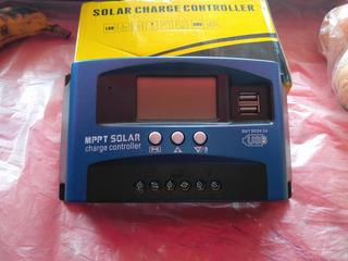 Controlador De Carga Solar 100 Amp Clase Mppt