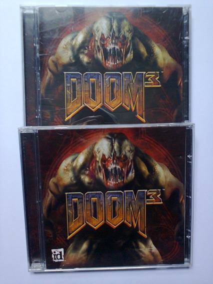 Jogo Pc Doom 3 - 3 Cds - Original