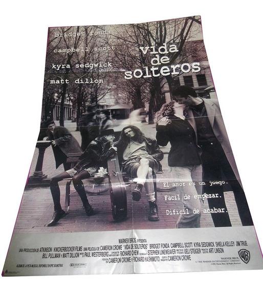 Vida De Solteros Poster Doblado De Cine