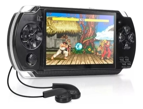 Video Game Portátil Retrô Mp5 Câmera Tv Arcade Nintendo