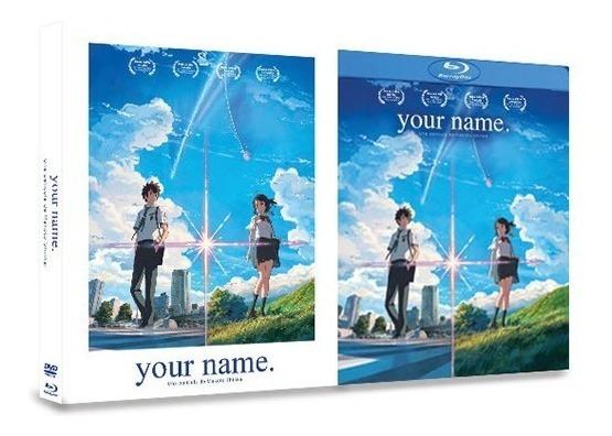 Your Name La Pelicula Blu-ray + Dvd En Español