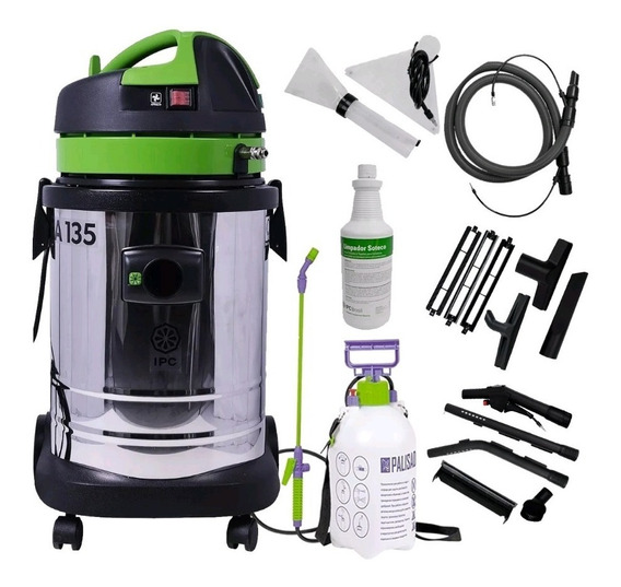 Lavadora Extratora Aspirador 35l A135 Ipc + Kit Completo
