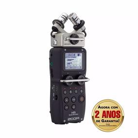 Gravador Digital Portátil De Áudio Zoom H5 Handy Recorder