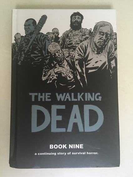 The Walking Dead Book 9 Capa Dura Com 12 Números