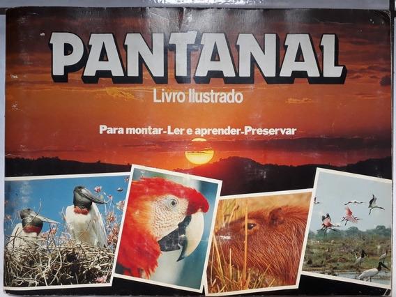 Álbum Raro De Figurinhas Pantanal De 1990 Do Mato-grosso Mt