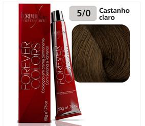 Coloração 5/0 Castanho Claro - Forever Liss