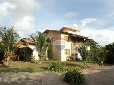 Casa Duplex Estilo Chácara Na Lagoa Redonda - Ca0026
