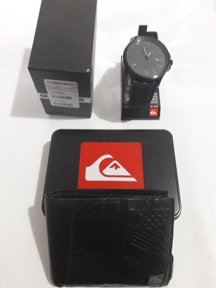 Relógio Quiksilver Beluka Canvas (+carteira Quiksilver)