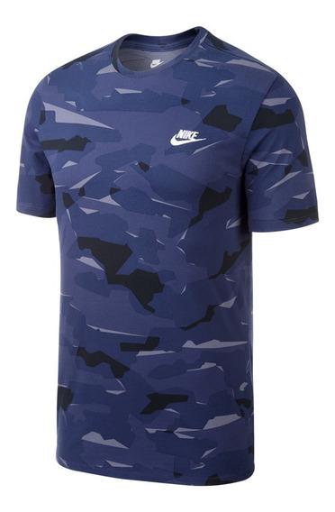 Remera Nike Hombre Sportswear Camo Print- 6194 - Moov