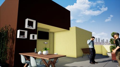Imagem 1 de 4 de Cobertura Duplex À Venda, 2 Quartos, 1 Vaga, Novo Progresso - Contagem/mg - 2137