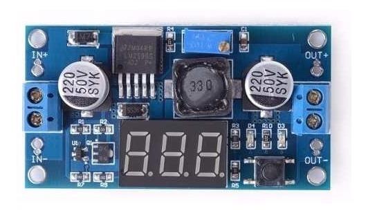 Placa Redutora De Voltagem Profissional C/voltimetro