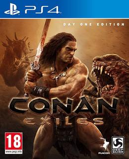 Conan Exiliados- Ps 4 + 3 Juegos Adicionales