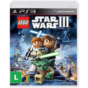 Lego Star Wars Iii 3 The Clone Wars - Mídia Física / Ps3