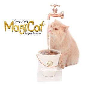 Bebedouro Torneira Para Gato Magicat Gold 110v - Catmypet