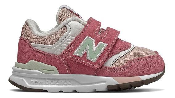 Tênis New Balance Iz997hap 997 Rosa Infantil
