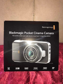 Cámara Blackmagic Pocket Cinema Filmadora Cine Profesional