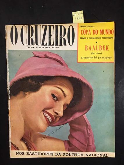 O Cruzeiro N°39 -nos Bastidores Da Politica - 10/07/1954