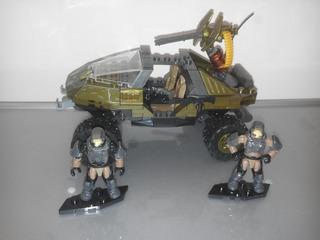 Warthog & Marines Halo 3 Mega Construx