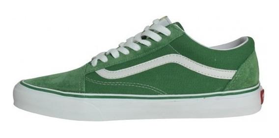 zapatillas vans old skool hombre verde