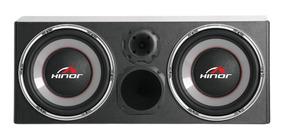Caixa Amplificada Hinor Box 500w Trio 1500 Preto Automotiva