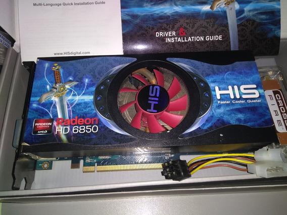 Placa De Vídeo Hd 6850 1gb His Na Caixa C/ Defeito!