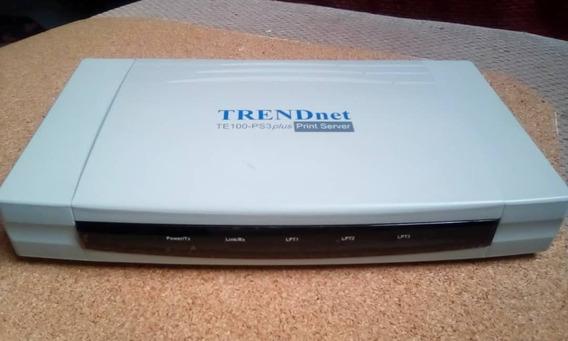 Servidor Para Impresoras Te100 Ps3 Plus 10/100 Mbps