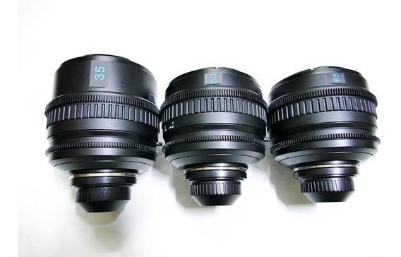 Kit Lentes Sony Bocal Pl 35mm / 50mm / 85mm - Sony