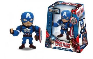 Marvel Metals Die Cast Capitan America Civil War Original