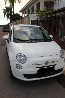 Excelente Fiat 500, Branco, Único Dono