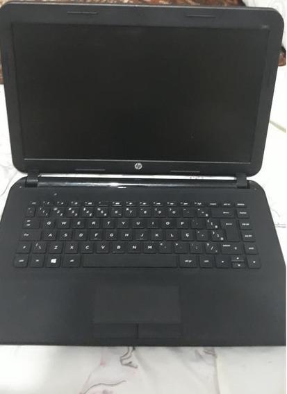 Notebook Hp240 G2 - I3 S/ Hd S/memória - Usado