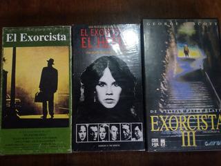 Lote El Exorcista 1, 2 Y 3 Vhs Originales