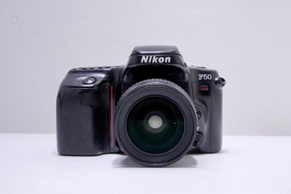 Nikon F-50 Com Objetiva 28-80 F3.3-5.6