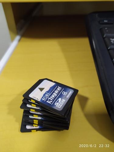 Kit 10 Unidades Cartão Sd Hc 4gb