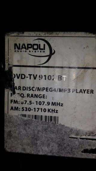Dvd Napoli Dvd-9102bt Para Retirada De Peças
