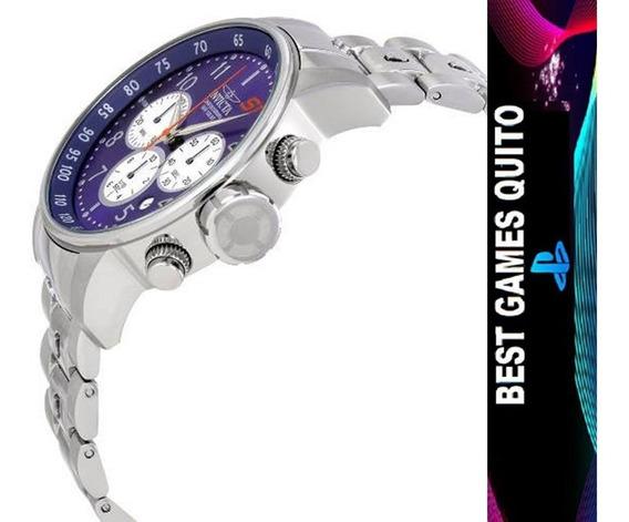 Reloj Invicta S1 Rally 23080 Plateado Hombre/original