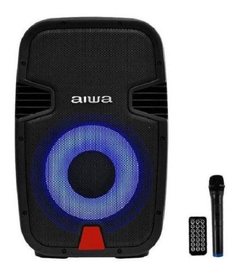 Caixa De Som Karaoke Aiwa 12 800w / Usb,micro Sd / Bluetooth