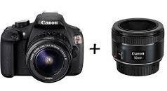 Câmera Canon Rebel T5 Com 2 Lentes