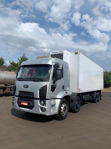 Cargo 2429 E 8x2 Bitruck 2013 Câmara Fria Hc 2016